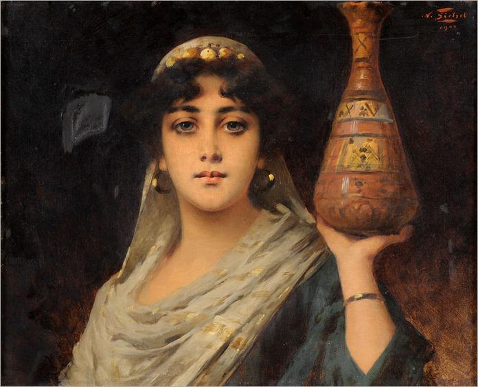 Nathaniel_Sichel_Orientalische_Schönheit_1900