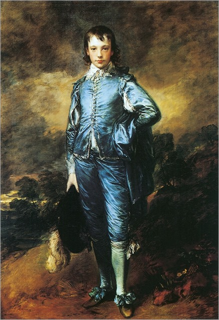 O menino de Azul - Thomas Gainsborough