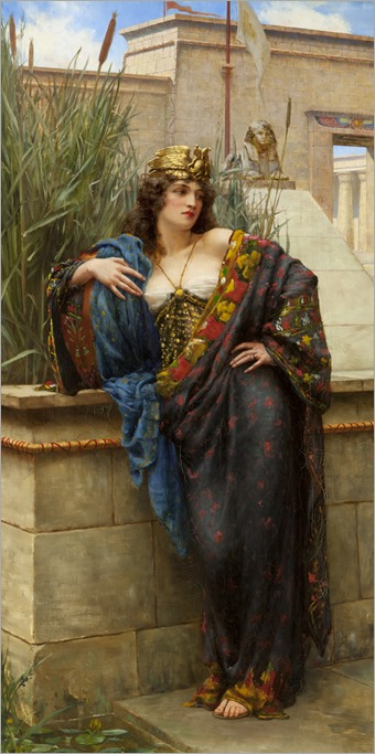 Pharaoh's-Daughter-1896-Reginald-Arthur-British-1871‐1934