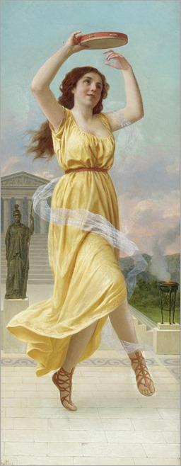 Pietro Saltini (1839 - 1908) - Dance to the Gods