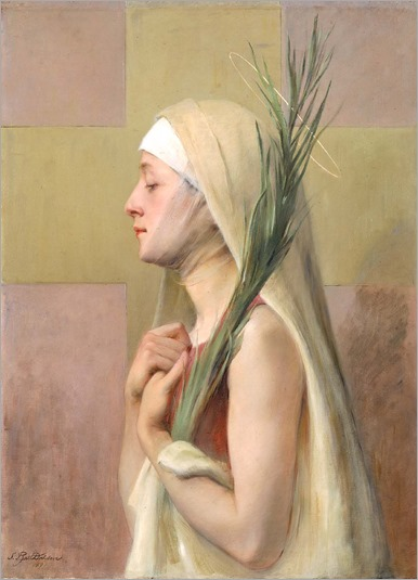 Sarah Paxton Ball Dodson_ Une Martyre , Saint Thechla 1891