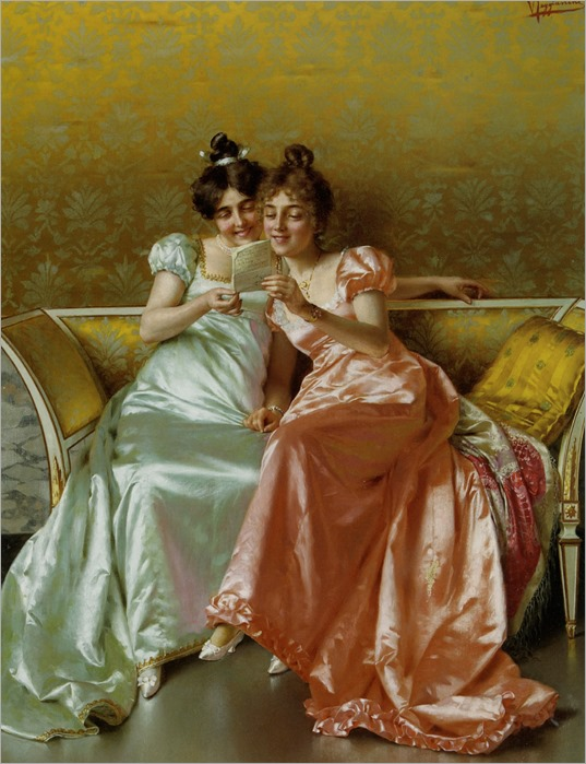 The Letter. Vittorio Reggianini (Italian, 1858-1939)
