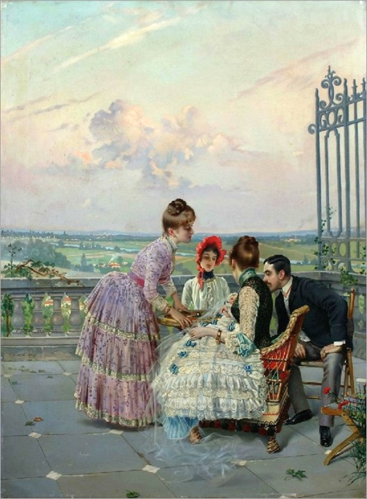 Vittorio Matteo Corcos (italian painter, 1859-1933)