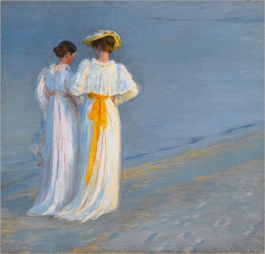 803px-Peder_Severin_Krøyer_-_Anna_Ancher_og_Marie_Krøyer_på_stranden_ved_Skagen