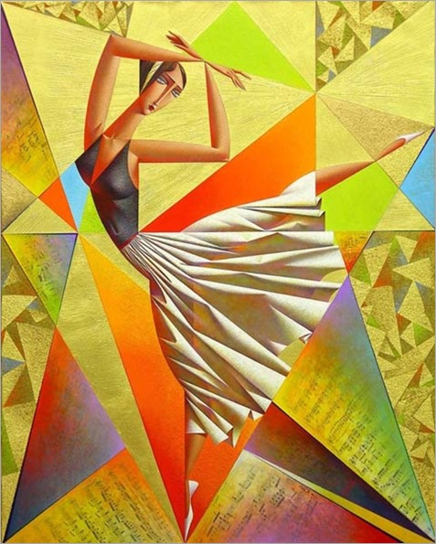 Classical Dance. Georgy Kurasov (Russian, born 1958)