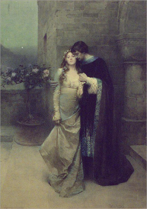 Couple Embracing - 1904 - William Ladd Taylor (american painter)