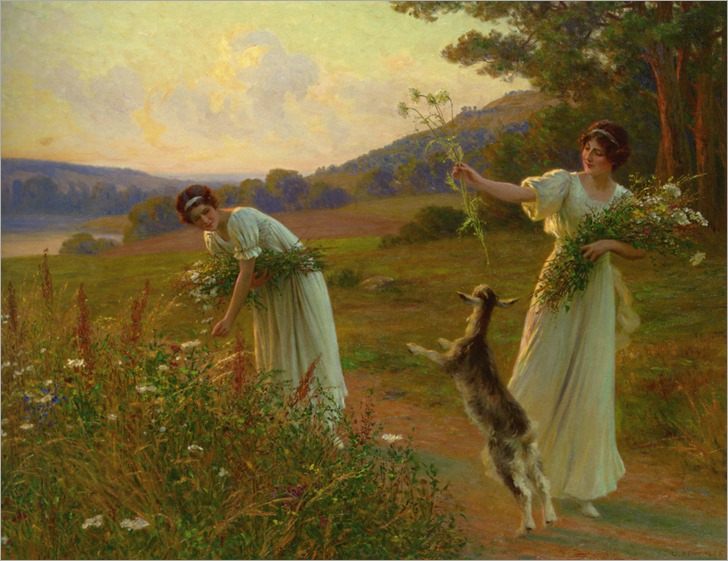 Kowalski_Leopold_Franz_A_Summer_Evening_1