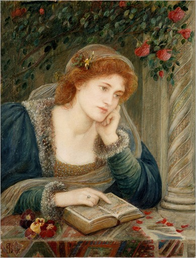 Marie Spartali Stillman-Beatrice (1895)