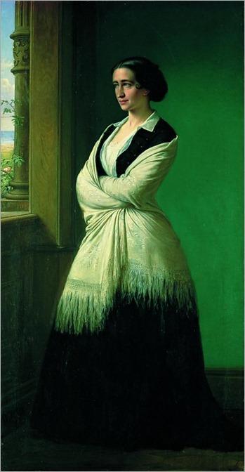 Ordinary Finds (portrait actress Johanne Luise Heiberg)_ Wilhelm Marstrand