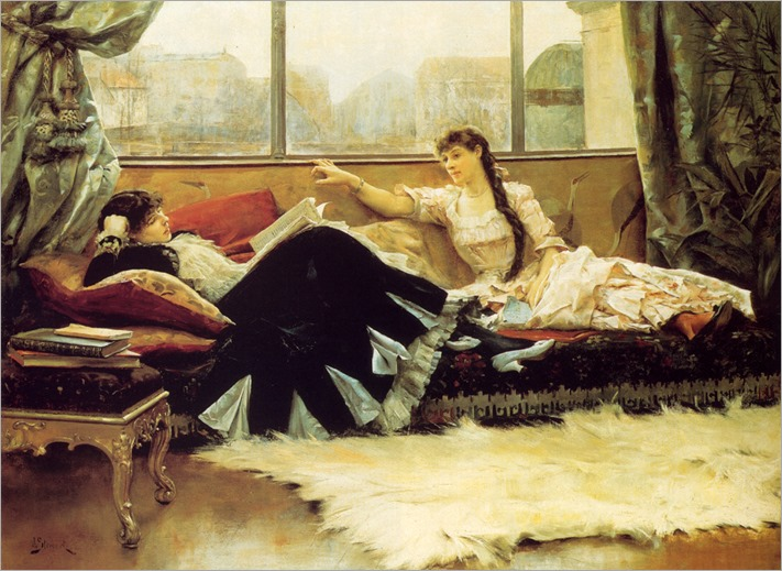 reading_aloud-Julius LeBlanc Stewart