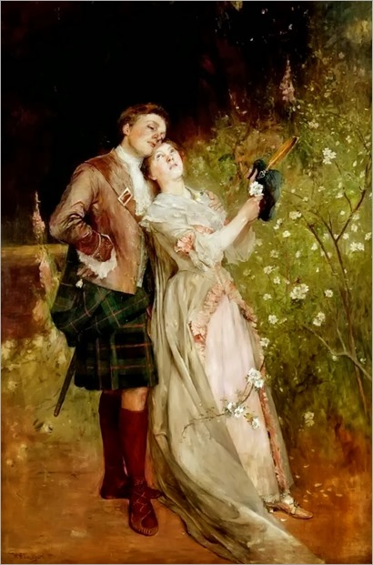 William Ewart Lockhart (scottish, 1846-1900) - The White Cockade 1899