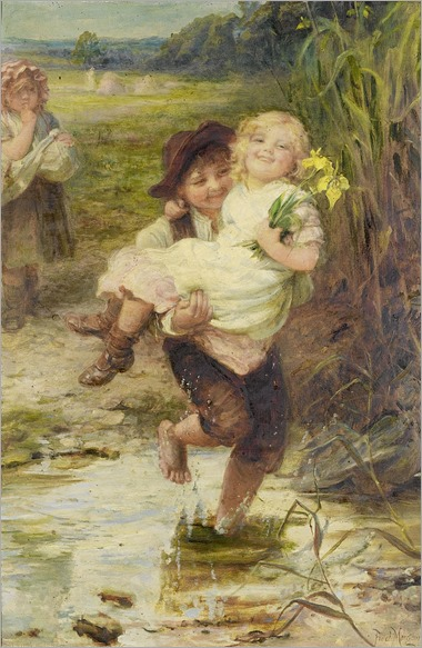 665px-Frederick_Morgan_-_The_young_gallant