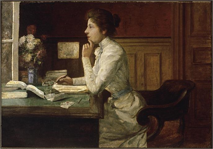 auto-retrato Abigail de andrade