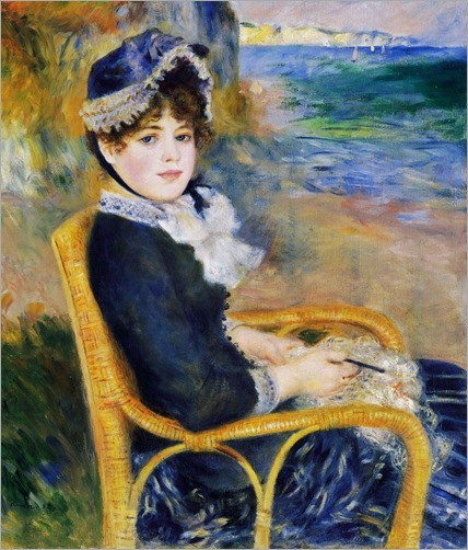 By the Seashore - 1883 - Pierre-Auguste Renoir (french painter)