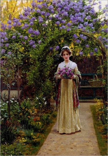 Edmund Blair-Leighton_-lilac-1901
