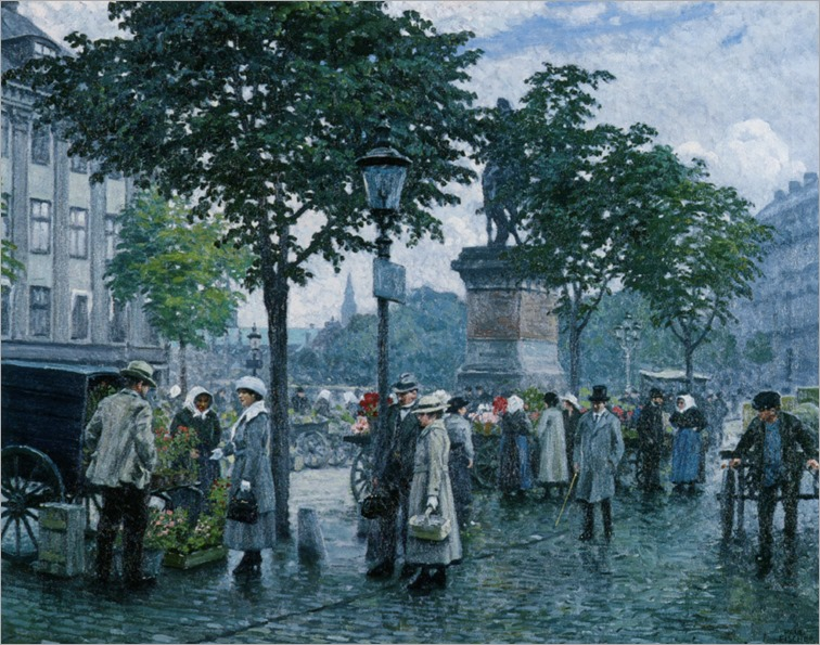 Fischer_Paul_The_Flower_Market_Copenhagen