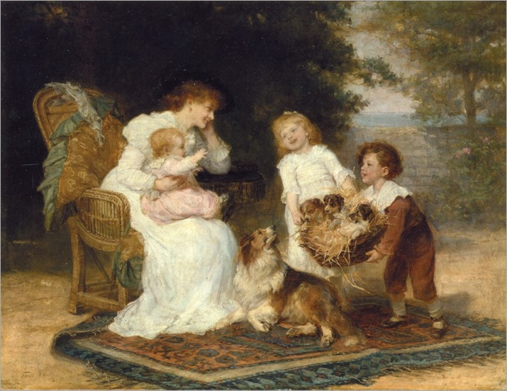 Frederick Morgan -The Little Strangers
