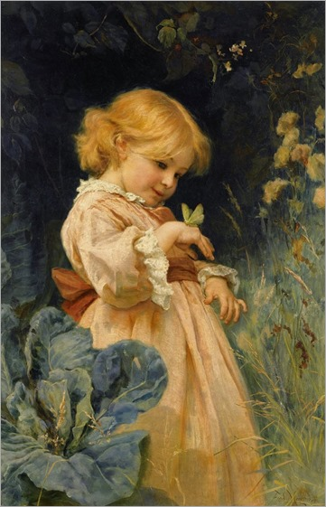 frederick morgan_The butterfly