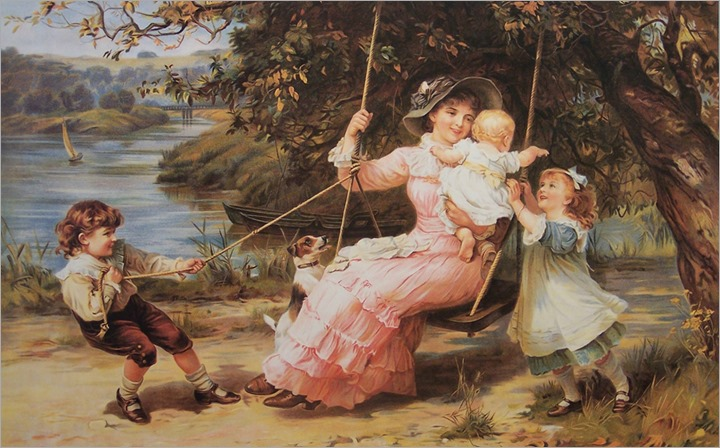 Frederick_Morgan_british, 1847_1927_The_swing