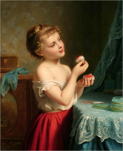 Fritz Zuber-Buhler (1822-1896) - A Little Rouge