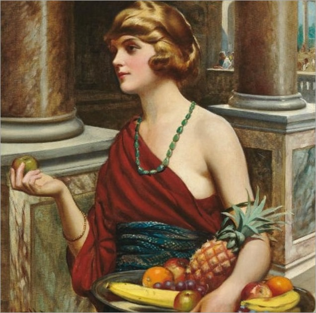 Harold F.Piffard (FL 1895-1899) The fruit seller