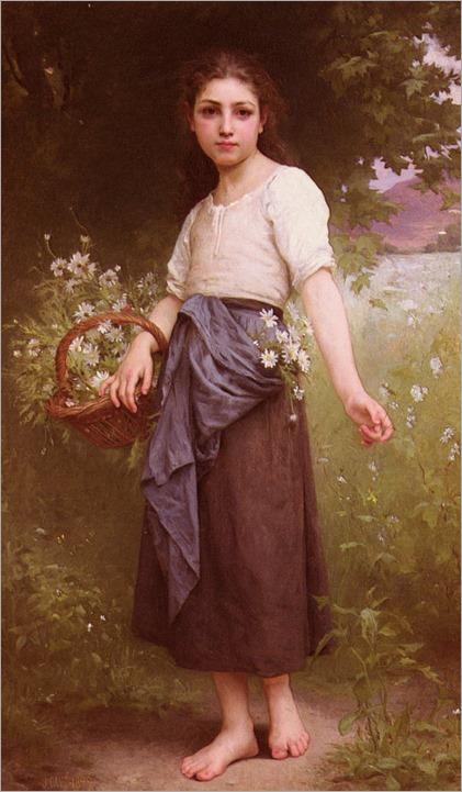 JulesCyrilleCave-picking_daisies