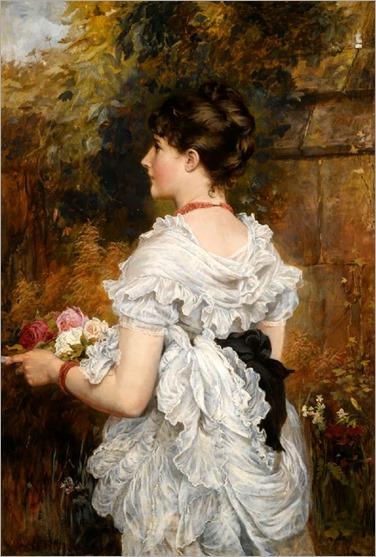 Laslett John Pott - The Last of the Summer Roses 1880