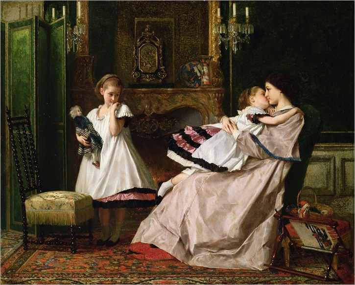 motherly-love-gustave-leonard-de-jonghe
