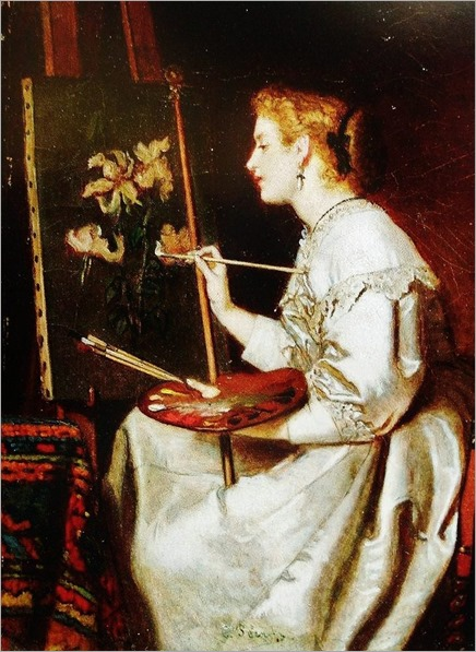 The artist - Charles Pecrus