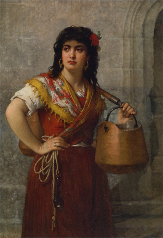 The-Water-Carrier-by-Jules-Salles-Wagner