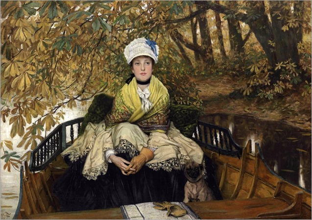 Tissot, James - Waiting (also known as In the Shallows)