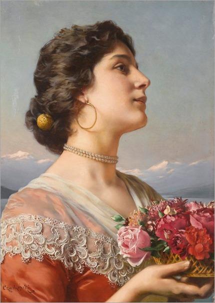 Władysław_Czachórski_-_The_bouquet