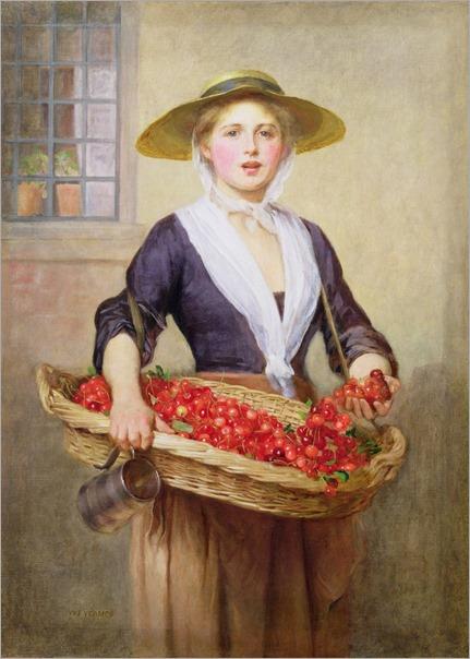 william-freereick-yeames--cherry-ripe