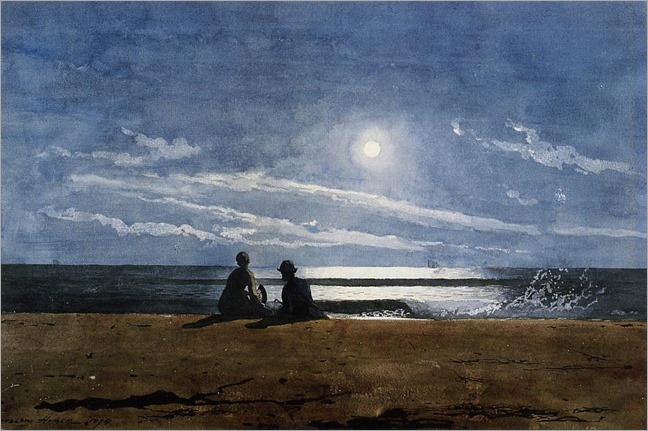 Winslow_Homer_-_Moonlight