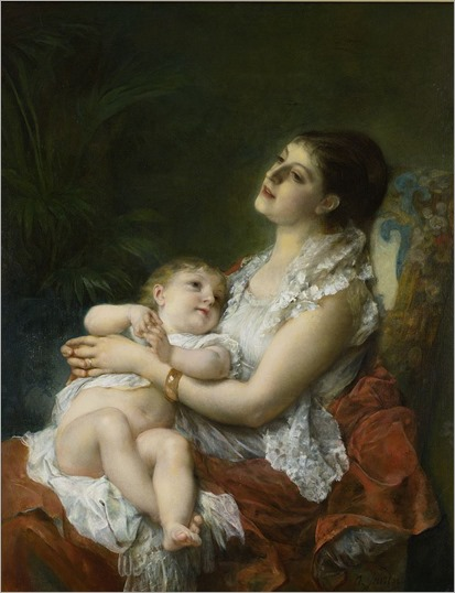 786px-Adolphe_Jourdan_A_Mother's_Embrace