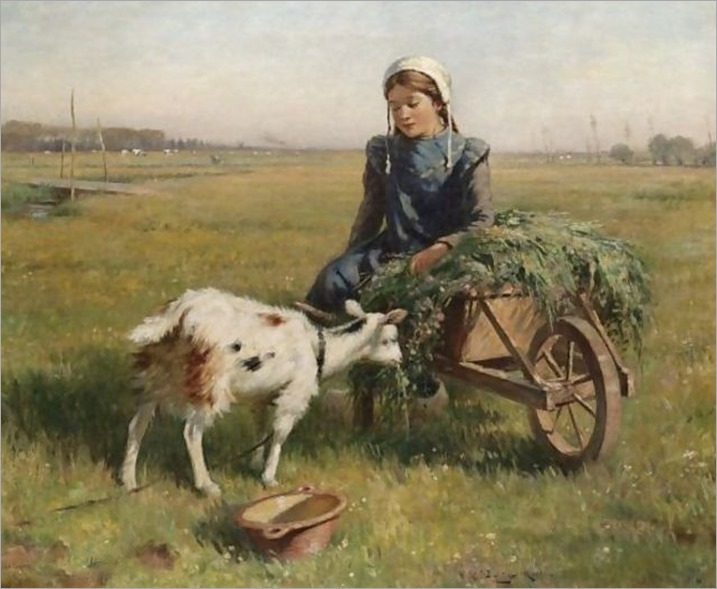 A_Dutch_Idyll_William Kay Blacklock (1872-1924)