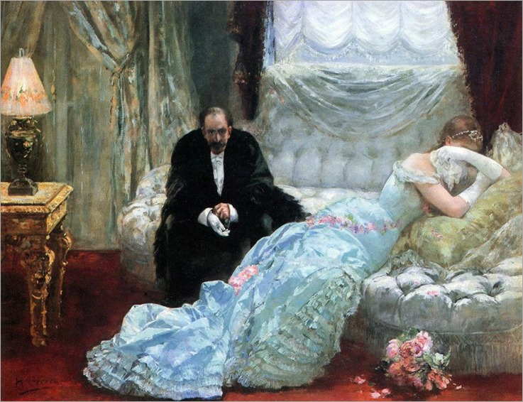 After the Ball - Henri Gervex
