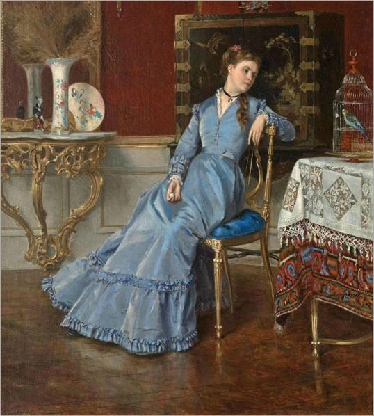 Albert Roosenboon (belgian) - Contemplation