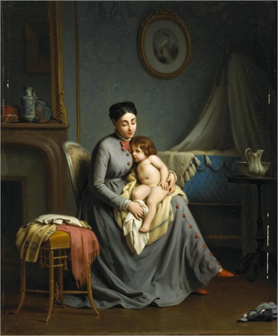 Alexandre Legrand - maternal love