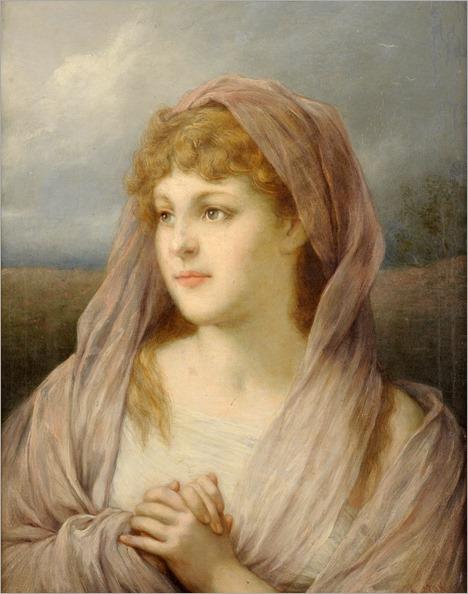 Blonde Woman - Gabriel von Max (german painter)