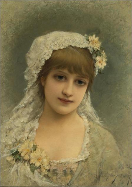 Emile Eisman-Semenowsky (1857 - 1911) - Marguerite