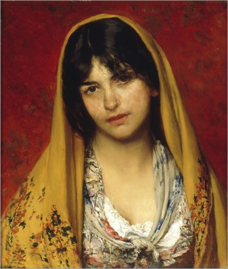 eugene-de-blaas-girl-with-veil