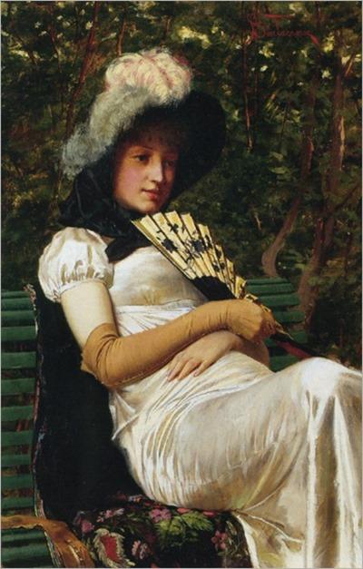Frédéric Soulacroix, Jeunne Gemme, (not dated, artist died 1933)