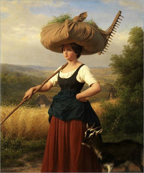Friedrich Eduard Meyerheim (1808–1879) -Rückkehr vom Feld
