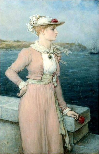 George Henry Boughton - Sea Breeze 1880