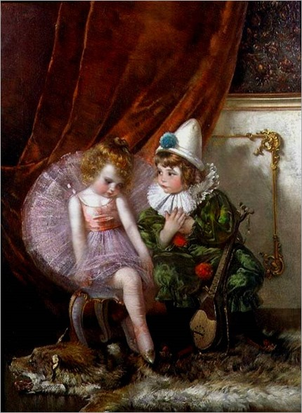 Pierrot and Pierrette-Edmond Louyot