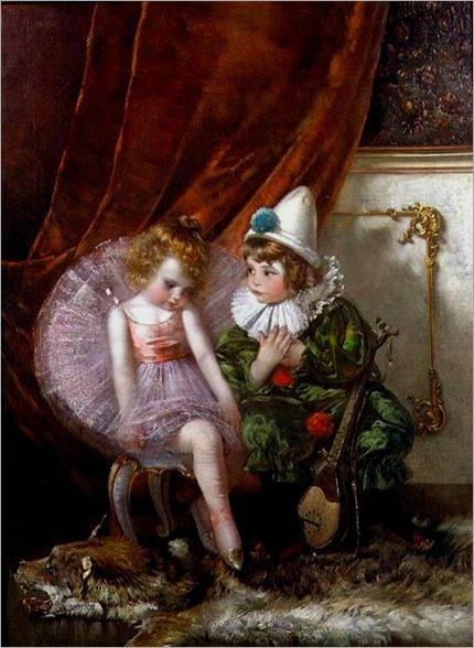 Pierrot and Pierrette-Edmond Louyot