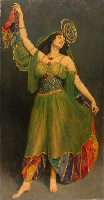 Souvenir of Chu Chin Chow - John Collier (english painter)