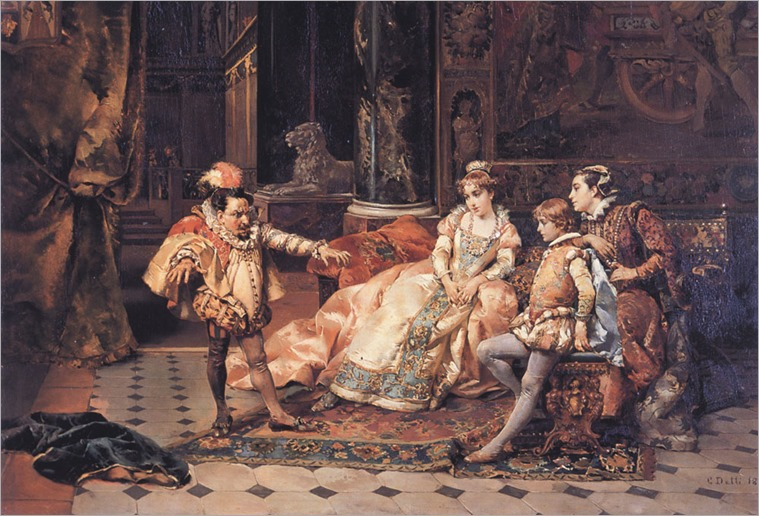 The Court Jester-Cesare Auguste Detti