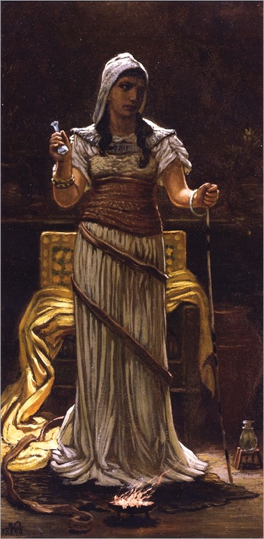 The Etruscan Sorceress-Elihu-Vedder-1886